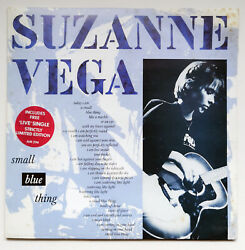 Suzanne Vega Small Blue Thing Limited 7 Double Single Pack 1986 Org Issue