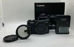 Canon Powershot G7x Mark Ii 20.1mp 4.2x Optical Zoom Full-hd W/ Lens And Charger