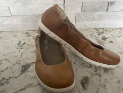 Sas Womenand039s Sunny Loafer Light Brown Leather Slip On Moccasins Shoes Size 7 N