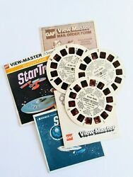 B499 Star Trek The Omega Glory Gaf View-master Complete Packet 3 Reels And Booklet