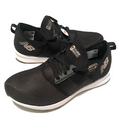 New Balance Womenand039s Fuelcore Nergize V1 Sneaker Black White Rose Gold Size 8