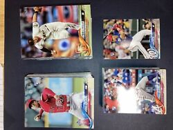 2018 Topps Update Complete Master Set 545 Cards Hobby And Retail Inserts