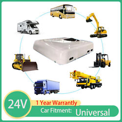 Cooling 24 Volt Rooftop Air Conditioner For Trucks Cabin Rv Motorhome Tractor