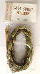 Sweetgrass Braid - Native American Herb For Smudging Purifying And Prayer