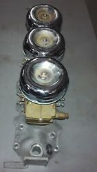 Nos Offenhauser Intake Manifold And Nos Stromberg Carb 97 2450 Plus Shipping