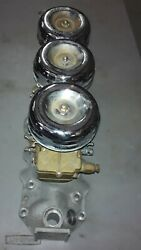 Nos Offenhauser Intake Manifold And Nos Stromberg Carb 97 2250 Plus Shipping