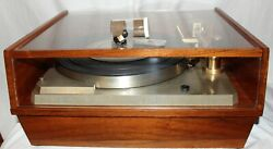 Empire Turntable 598 Ii Very Nice Extra Cartridge And Stylus Service 2 Years Ago