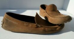 Todand039s Gommino Brown Leather Moccasin/driving Menand039s Shoe Size 9.5 Made In Italy