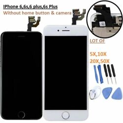 Lot For Iphone 6 6+ 6s 6s + Touch Screen Digitizer Assembly Replacement Aaa Lcd