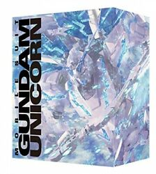 Mobile Suit Gundam Unicorn Complete Edition Blu-ray Box With Rg Perfectibility.