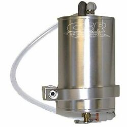 Csr 850 Overflow Tank Transmission 1 Pint Round Aluminum Clear Anodized New