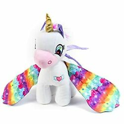 Sunny Days Entertainment Wonder Wings Plush Unicorn Andndash Collectible Stuffed Animal