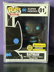 Batman Silhouette Glow In The Dark Entertainment Earth Exclusive Funko Pop 01