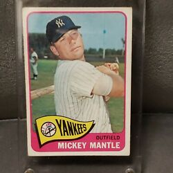 1965 Topps 350 Mickey Mantle