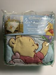 Disney Baby 3-piece Crib Bedding Set Like A Cloud Winnie The Pooh And Piglet
