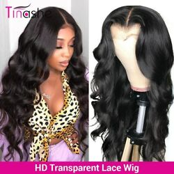Hd Transparent Lace Wigs Brazilian Body Wave Lace Frontal Wig Remy Closure Wig