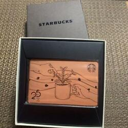 Starbucks Card 25years 25th Anniversary Limited Edition