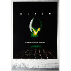 2019 Tuvalu Alien 40th Anniversary Silver Foil - 35g .999 Silver - Only 1k Made