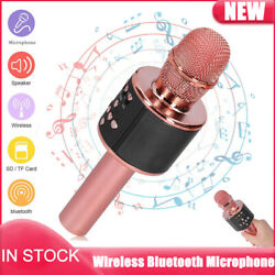 Wireless Bluetooth Karaoke Microphone For Family Gathering Birthday Party Gifts