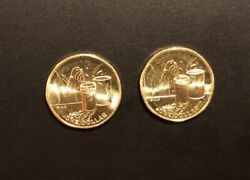 New 2021 Great Aussie Coin Hunt 1 Coin Letter M Milo Shiny Unc