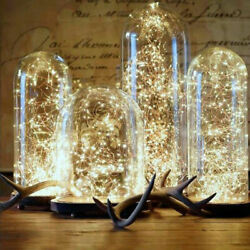 1m10m Fairy Led String Lights Christmas Round Ball Blubs Wedding Party Lamp New
