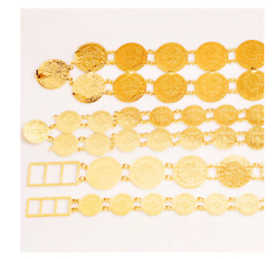 Gold Plated Belly Chains Turkish Coins Belt Money Charm Trendy Fashion Jewelry