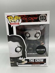 Funko Pop Movies The Crow 133 Glow In The Dark Hot Topic Exclusive