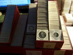 50 Proof Coin Lot-no Pennies-from Hoard Of Boxes From A Private Collectora5/19