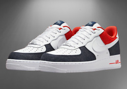 Nike Air Force 1 And03907 Lx Shoes Denim White Blue Red Dj5174-100 Menand039s Multi Size