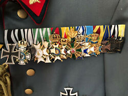 Wwi Reproduction German Medal Bar Prussian Mounting.