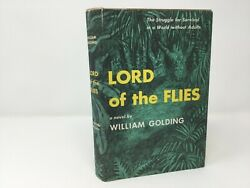 Lord Of The Flies By William Golding Hc First 1st Like New 1955