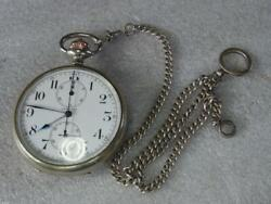 Longines Pocket Watch Cal19.73 1920 To 1940 Hand-wound Carafe Antique