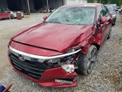 18-19 Honda Accord Oem Passenger Right Front Door Assembly Painted Red