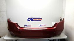 18-19 Honda Accord Oem Rear Bumper Assembly Painted Red With Park Assist Touring