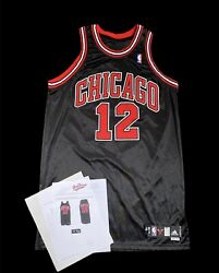 Kirk Hinrich Bulls Game Worn Used Jersey Photomatched Grey Flannel Coa
