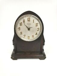 Antique Ingraham Mantle Clock Parts Only Does Not Work