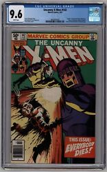 Uncanny X-men 142 Newsstand Cgc 9.6 Nm+ White Pages
