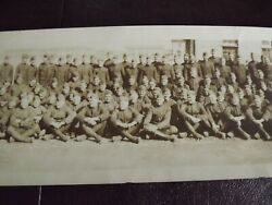 Wwi Panoramic 1919 Photo M Company 330th Inf. 8 X 42