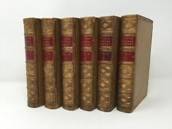The Natural History Of Pliny By John Bostock And H.t. Riley 6 Vol Complete Set