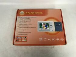 Hand Free Color Video Door Phone System 3.5