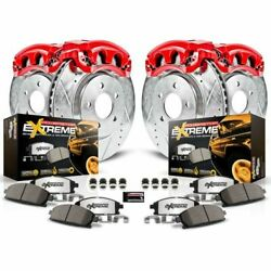 Power Stop Kc5560-36 Z36 Truck/tow Brake Kit With Powder Coated Calipers New