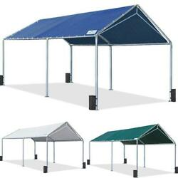 Quictent Outdoor Heavy Duty 10'x20' Carport Car Shelter Boat Cover Canopy Garage