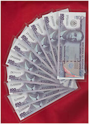2012 Philippines 100 Peso 100th Anni Masons Solid 111111 To 999999 1 Mil 888888