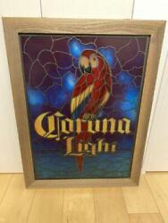 Super Rare American Limited Corona Beer Stained Glass Japan Rare