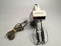 Vintage Dormeyer Hand Mixer Hm7-1 White 3 Speed Very Rare Collectable