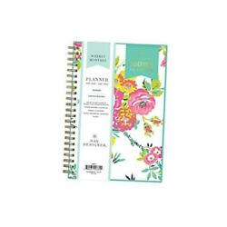 Day Designer for 2021 Weekly amp; Monthly Planner Flexible Cover Twin Wire $40.06
