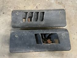 1968-1977 Vw Beetle Floor Heater Vent Covers 111819189 And 111819190