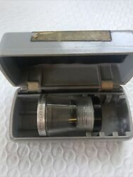 Vintage Bandl Bausch And Lomb Magnifier Loupe 7x With Ruler And Protractor Etched In