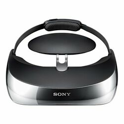 New Sony Wireless Head Mounted Display Personal 3d Viewer Hmz-t3w Lcd Tv Japan