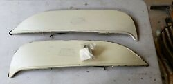 Nos 1966 Plymouth Belvedere Stainless Steel Fender Skirts Foxcraft Pbs-66s